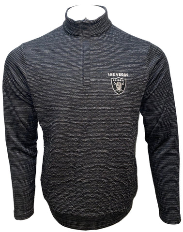 Las Vegas Raiders Analog 1/4 zip Pullover- Black