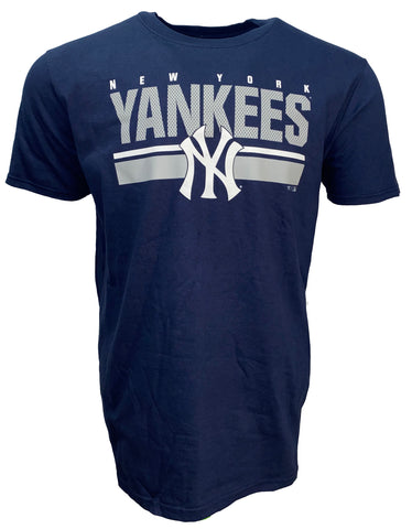 New York Yankees Men's End Game Tee - Navy