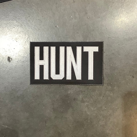 Hunt Pre-made Name Plate