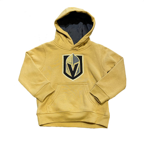 Golden Knights Toddler 3rd Jersey Prime Hoodie - Gold
