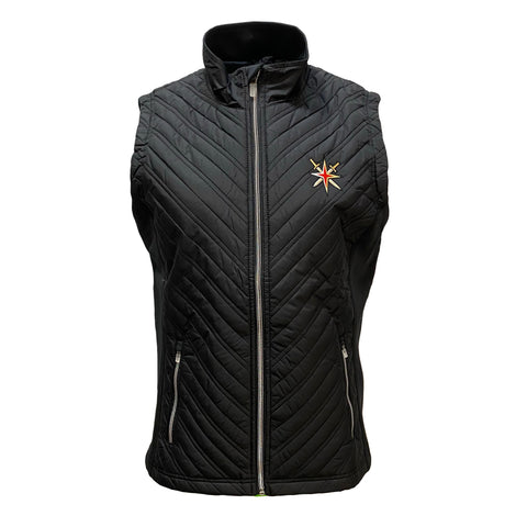 Vegas Golden Knights Women's Transition Retro Reverse Zip Up Vest