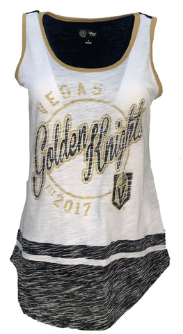 Golden Knights Womens Vintage Circle Logo Tank Top