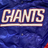 Giants Men's  Satin Jacket - Blue