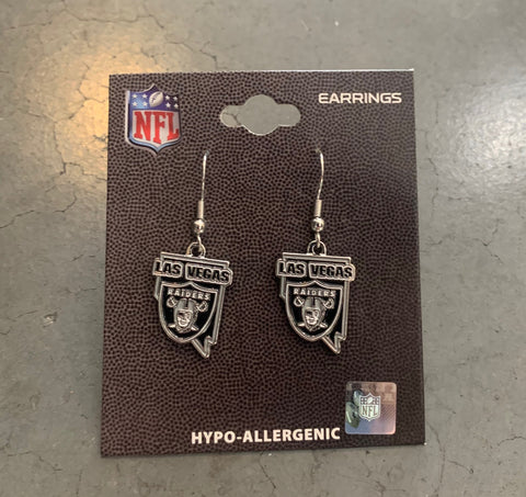 Las Vegas Raiders State Earrings