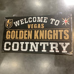 Welcome to Golden Knights Country Sign