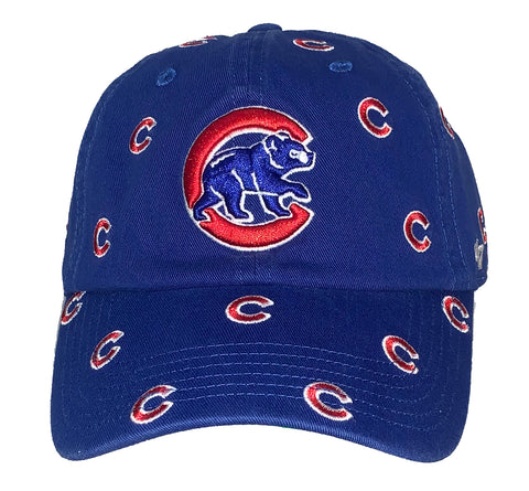Chicago Cubs Womens Confetti Clean Up Hat