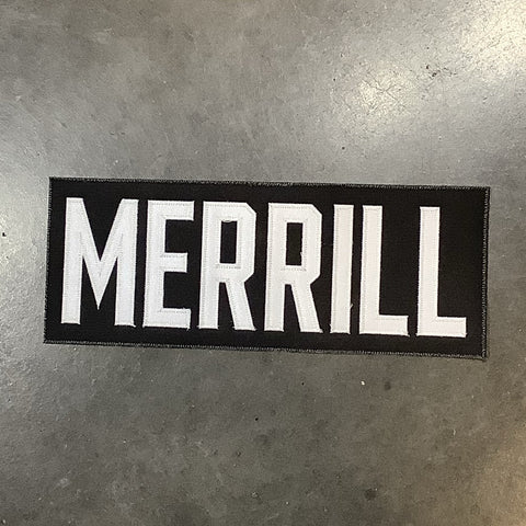 Merrill Pre-made Name Plate