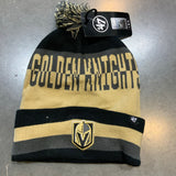 Golden Knights Split Text Cuff Knit Beanie