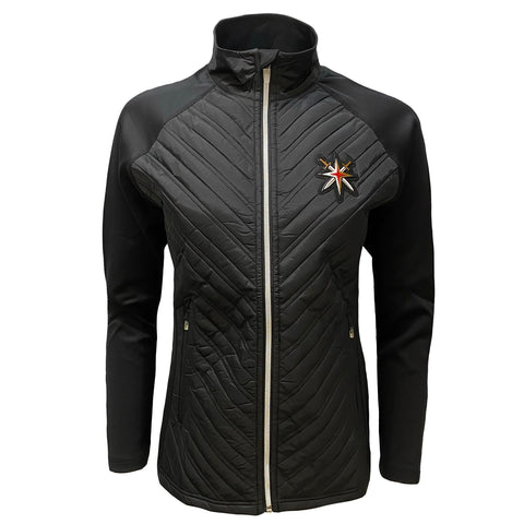 Golden Knights Women's Retro Reverse Scarlett Full Zip Jacket - Black