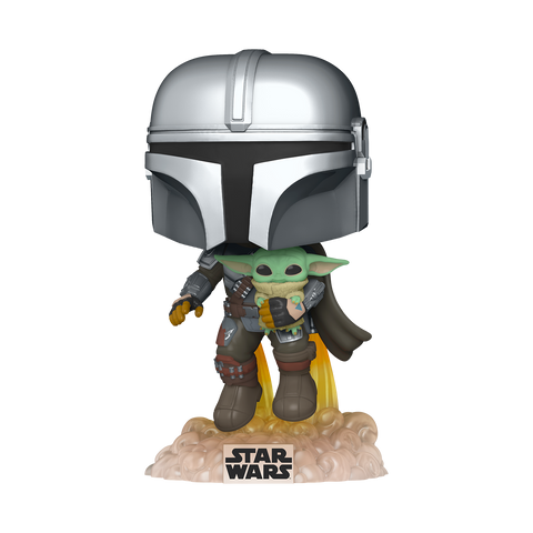 Funko POP! Star Wars: The Mandalorian with the Child #402