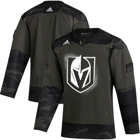 Golden Knights Military Appreciation Veterans Day Authentic Warm Up Jersey 2020 - Camo