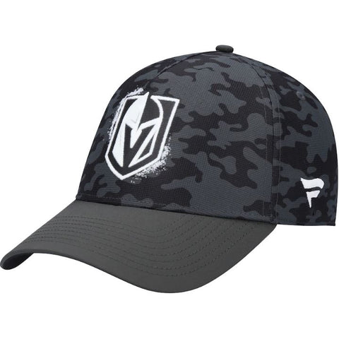 Vegas Golden Knights Fanatics Branded H2O Military Appreciation Adjustable Hat – Black
