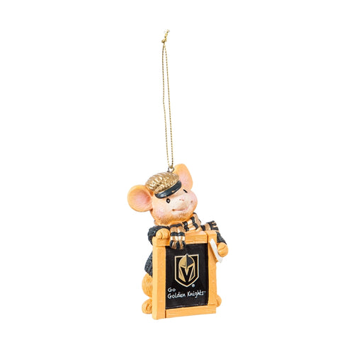 Golden Knights Holiday Mouse Ornament