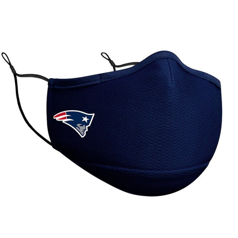 New England Patriots New Era On-Field Face Covering Mask Adult - Navy
