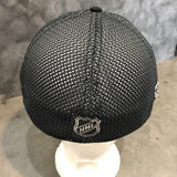 Anaheim Ducks Curved Bill Fitted Hat - Dark Grey/Black