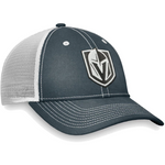 Vegas Golden Knights Fanatics Branded Sport Resort Mesh Back Trucker Snapback Hat – Charcoal/White