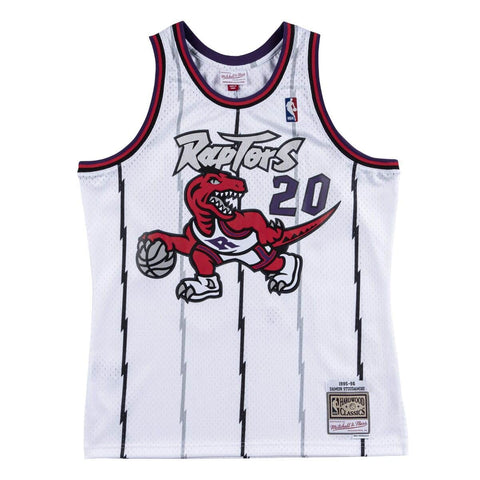 Raptors Stoudamire 1995-96 Swingman Jersey - White