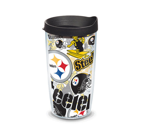 Steelers All Over 16oz Tumbler