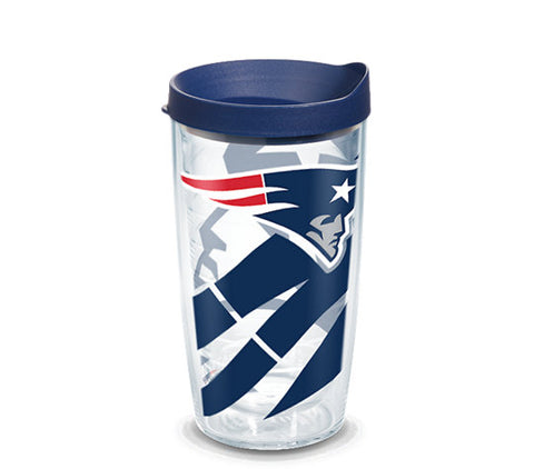 New England Patriots Genuine 16oz Tumbler