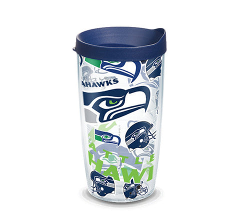 Seahawks All Over 16oz  Tumbler