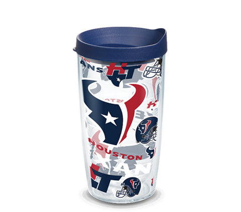 Texans All Over 16oz Tumbler
