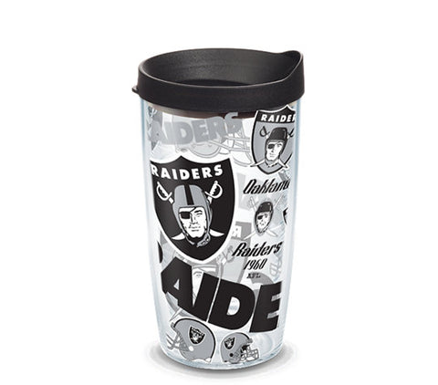 Raiders All Over 16oz Tumbler