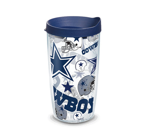 Cowboys All Over 16oz Tumbler