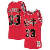 Bulls Pippen 1997-98 Chinese New Year Swingman Jersey - Red