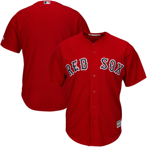 Boston Red Sox Official Cool Base Jersey - Red