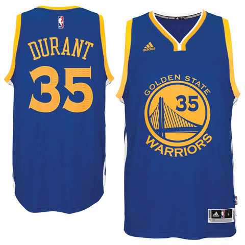 Warriors Kevin Durant Adidas Swingman Jersey