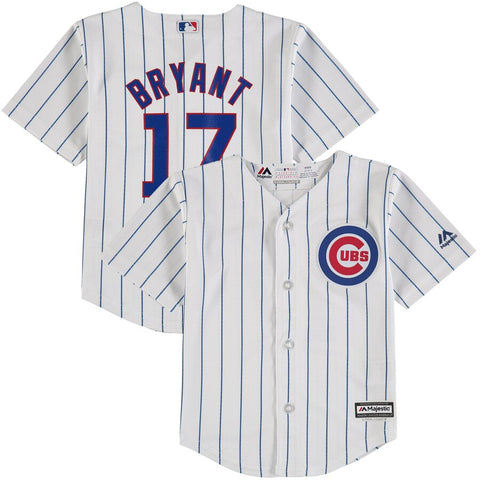 Chicago Cubs Kids Bryant Jersey - White