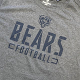 Chicago Bears Stealth Stencil T-Shirt - Gray