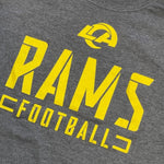 Los Angeles Rams Stealth Stencil T-Shirt - Gray