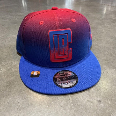 LA Clippers Back Half Gradient Snap Back