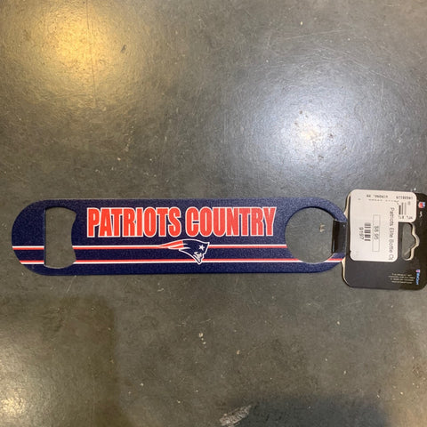 Patriots SLOGAN METAL BOTTLE OPENER 2 SIDED