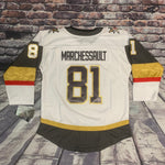 Vegas Golden Knights Youth Marchessault Premier Jersey - Away White