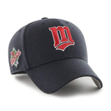 MINNESOTA TWINS COOPERSTOWN WORLD SERIES SURE SHOT SNAPBACK '47 MVP
