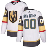 Men's Vegas Golden Knights Adidas White Authentic Custom Jersey ***