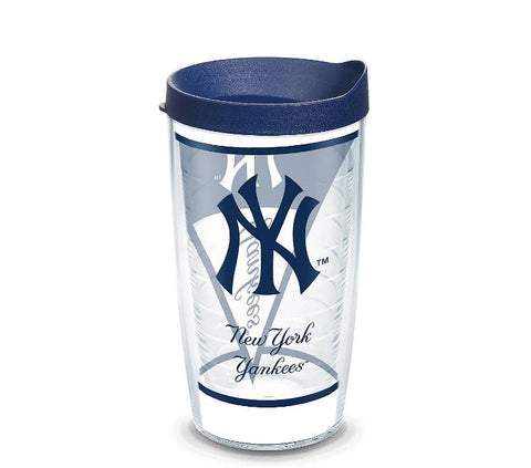 New York Yankees 24 oz Batter Up Travel Mug with Lid