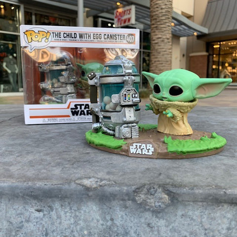 Funko POP! Star Wars: The Child With Egg Canister #407