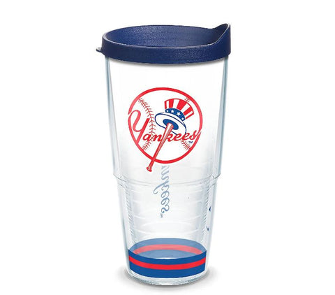 New York Yankees 24 oz Arctic Travel Mug with Lid