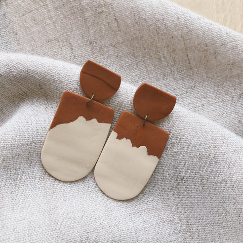 Clay Billow Earrings