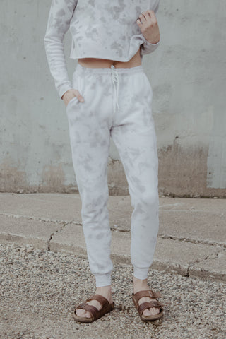 The Dapple Dyed Jogger Sweatpants