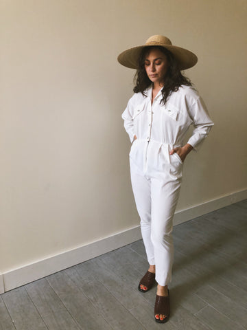White Jumpsuit Coveralls