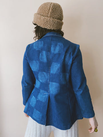Batch NO. 24 - Denim Checkered Jacket