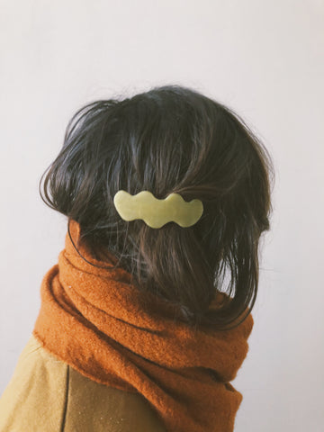 Squiggle Hair Barrette