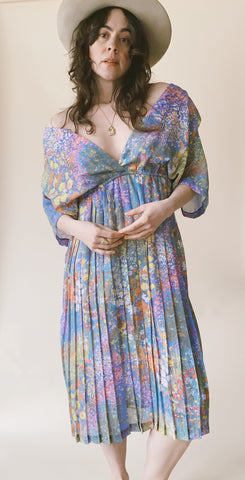The Pleated Monet Dress