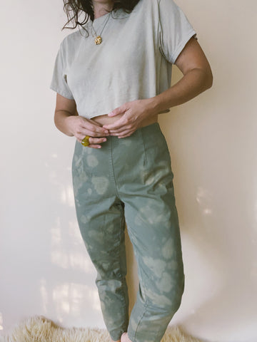 Batch NO. 18 - Olive Tapered Pants