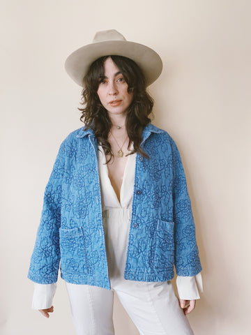 The Embroidered Blooms Jacket