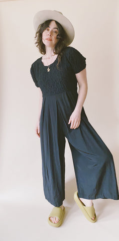 The Daisy Chain Jumpsuit Noir